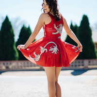 Game of Thrones inspired Lannister Dress