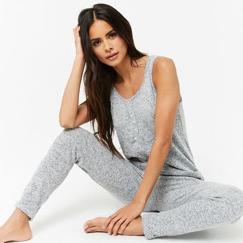 Sweater-Knit PJ Jumpsuit