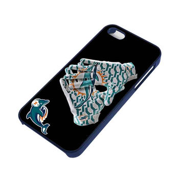 MIAMI DOLPHINS FOOTBALL iPhone 5 / 5S Case