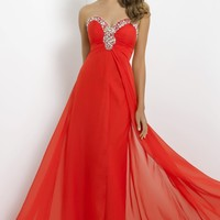 Strapless Gown by Blush by Alexia