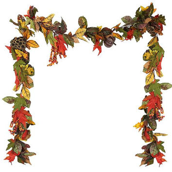 Thanksgiving Garland - 9 Ft. - Hangers Included