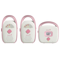 Safety 1st Glow & Go Duo Monitor (2 Receivers) Pink