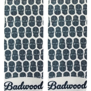 Badwood Bomber Pattern Ankle Socks