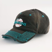 Men's American Needle 'Marlins' Baseball Cap - Black
