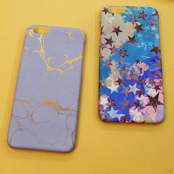 Stars mobile phone case for iphone 6 6s 6plus 6s plus + Nice gift   box!