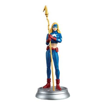 DC Superhero Stargirl White Pawn Chess Piece with Collector Magazine #79
