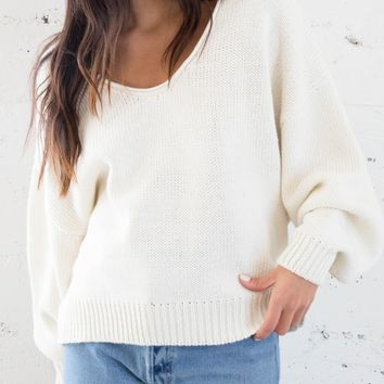 Candice Sweater - Cream