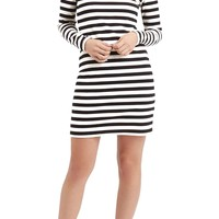 Topshop Stripe Turtleneck Dress | Nordstrom