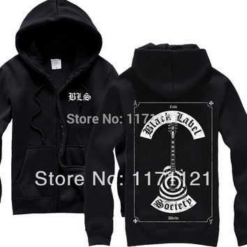 Black Label Society Gothic style Heavy metal  mucis new  HOODIE