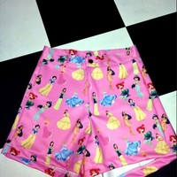 SWEET LORD O'MIGHTY! PINK PRINCESS BOOTY SHORTS