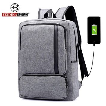 Design USB Charge Backpack For Unisex High-Capacity Laptop Backpack Men Women Backpack School Bags Backpack For Teens