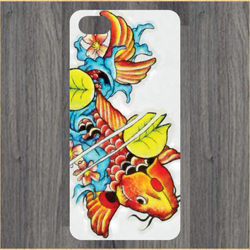 Japanese Koi Fish Watercolor Art  iPhone 4/4S 5/5C 6/6+ Case and Samsung Galaxy S3/S4/S5