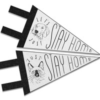 Stay Home pennant