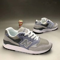 """New Balance 998"" Men Sport Casual N Words Multicolor Retro Sneakers Running Shoes"