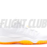 "air jordan 11 retro low gg (gs) ""citrus"""
