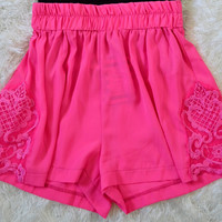 Darling Pink Shorts