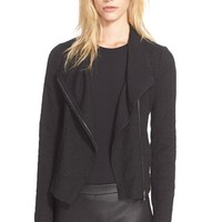 Women's Vince Stretch Frise Asymmetrical Jacket