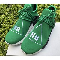 Best Online Sale Pharrell Williams x Adidas PW HU Human Race NMD Hu Green Boost Sport