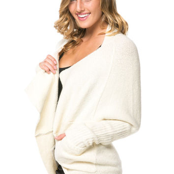 City Dolman Knit Cardigan