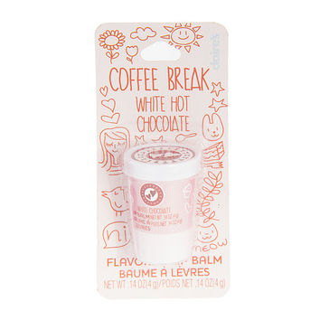 White Hot Chocolate Flavored Coffee Break Lip Balm