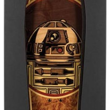 Santa Cruz Star Wars R2-D2 Inlay Collectible Skateboard Deck (Deck Only)