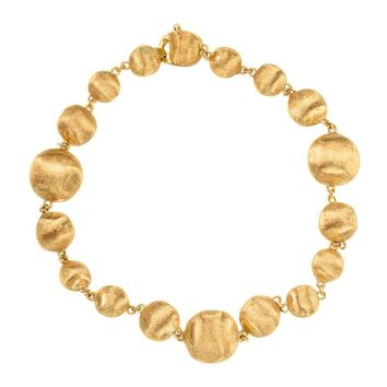 Marco Bicego Africa Graduated Gold Nugget Bracelet