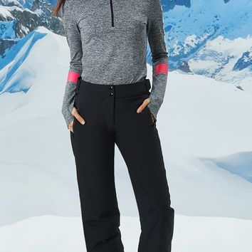 Active High-Waist Ski Pants