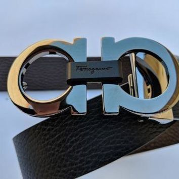 Salvatore Ferragamo men's reversible belt size 34 $375