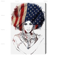 American Woman — The Oliver Gal Artist Co.