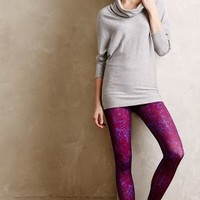 Dahlia Printed Leggings by Onzie Blue Motif