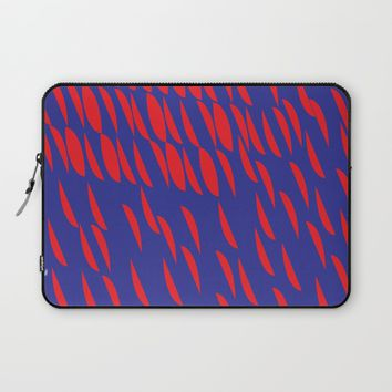 BLUE AND RED Laptop Sleeve by IN LIMBO ART | Society6