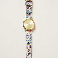 Paint Splatter Watch