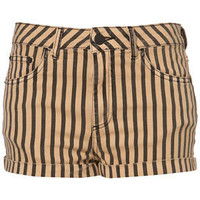 MOTO Striped Hotpants - Denim Shorts - Shorts - Apparel - Topshop USA