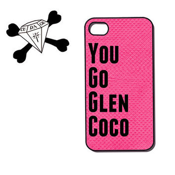Quote iPhone Case  iPhone 4s iphone 4  You go glen by CudageCase