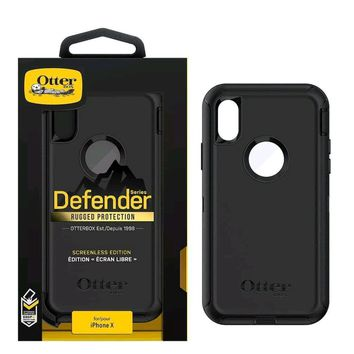 Otterbox DEFENDER SERIES for Apple iPhone X Case Rugged Protection CA Seller
