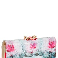 Ted Baker London Cubist Floral Print Matinee Wallet