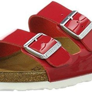 Birkenstock Women's Arizona 2-Strap Cork Footbed Sandal Tango Red 40 M EU sale  sandals  mayari  arizona  promo boston cheap