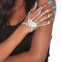 Skeleton Hand Ring Bracelet - 134367