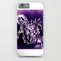 Horse Flower iPhone & iPod Case by ES Creative Designs