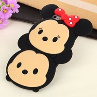 iPhone 6 Case, 3D Cute Cartoon Mouse Soft Silicone Case Cover for Iphone 6 4.7 inch