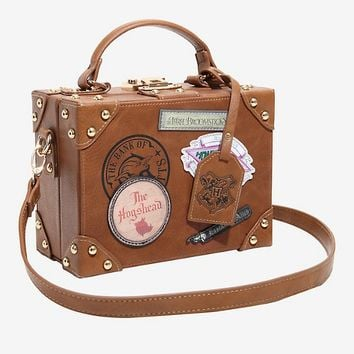 Harry Potter Vintage Trunk Crossbody Bag