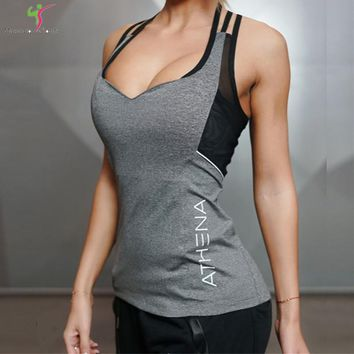2017 Women Stringer Tank Top Sexy Camis Tops Women Fashion Brand Gyms Clothes Fitness Bodybuilding Clothes