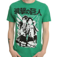Attack On Titan Scout Regiment Leaders T-Shirt