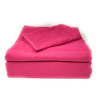 Tache 2-3 Piece Rose Pink Duvet Cover Set (TA505-RP-DS)