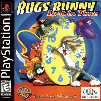 Bugs Bunny Lost in Time - Playstation (Very Good)