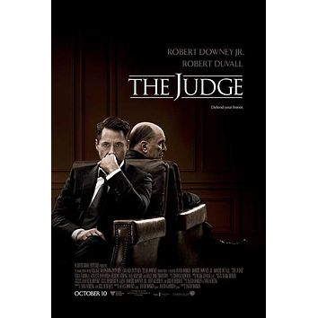 The Judge 27x40 Movie Poster (2014)