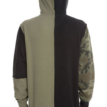The Surplus Hoodie in Army