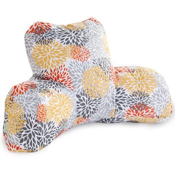 Citrus Blooms Reading Pillow