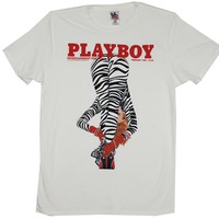 Vintage Playboy Magazine Cover T-Shirt by Junk Food