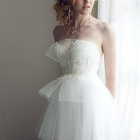 Queen for a Day Tulle Wedding Dress by clairelafaye on Etsy